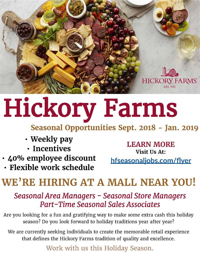 Hickory Farms Jobs