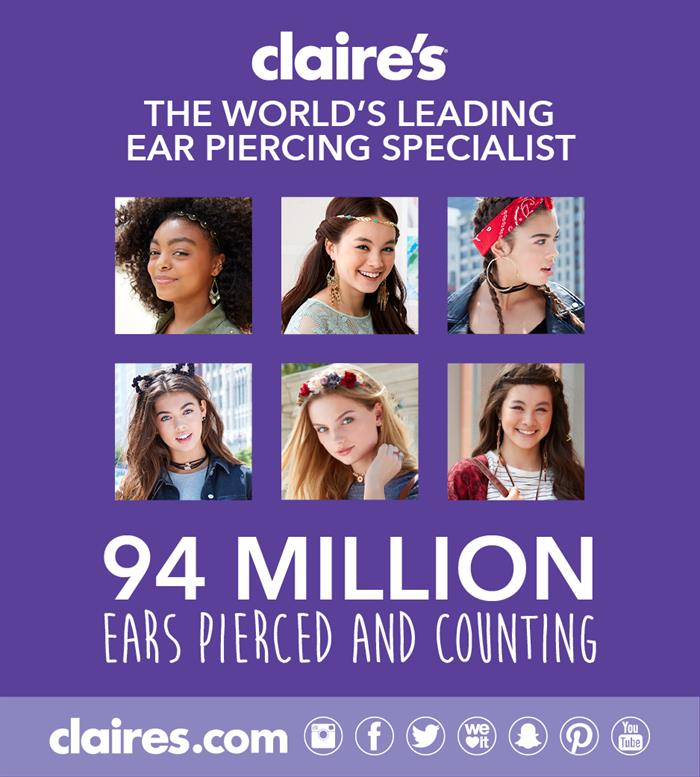 Claire S Ear Piercing