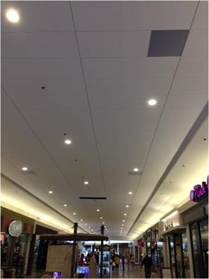 Concourse Work - Ceiling and Lighting