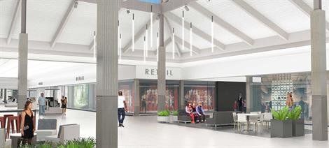 Longview Mall Renovations